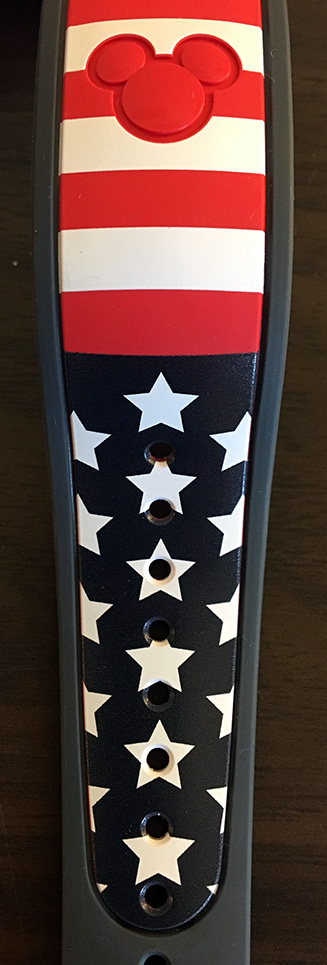 Red Line American Flag >> Limited Releases – Disney MagicBand, MyMagic+, and FastPass+ collectables