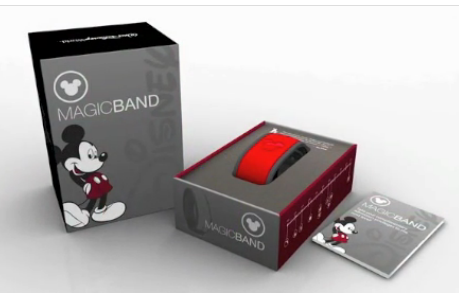 Here's the box for the promo E-Ticket MagicBand: