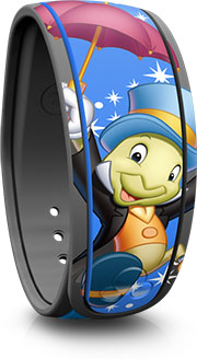 Jiminy Cricket Open Edition MagicBand released Disney MagicBand