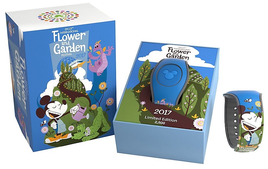2017 Epcot Flower Garden Limited Edition Magicband Revealed Disney Magicband Mymagic And