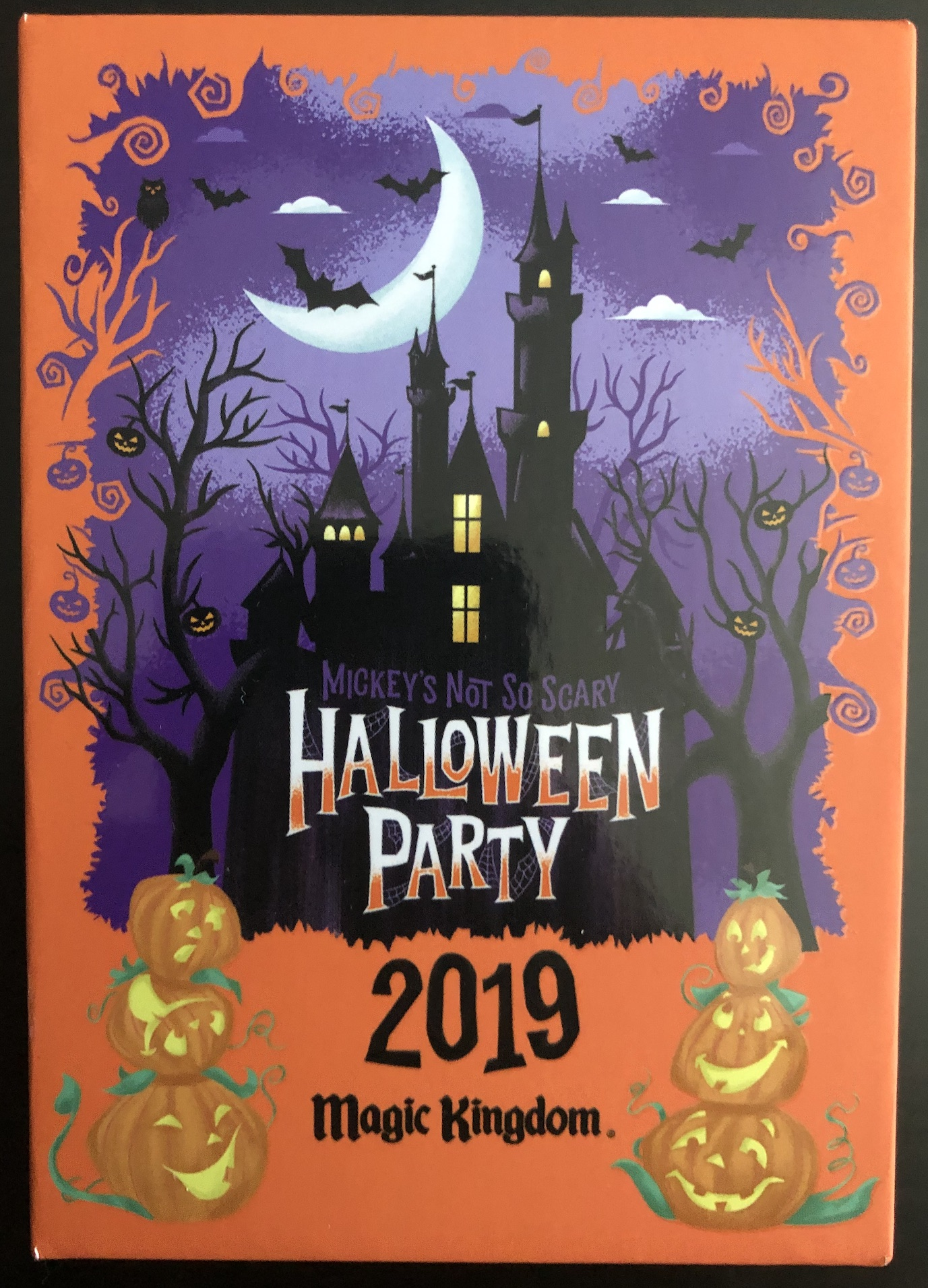 Halloween Disney 2019 Date.2019 Mickey S Not So Scary Halloween Party Limited Edition