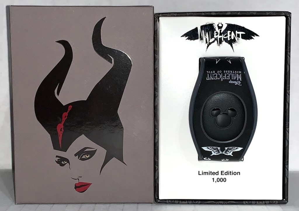 New Maleficent: Mistress of Evil Live Action Limited Edition MagicBand out Friday – Disney MagicBand, MyMagic+, and FastPass+ collectables