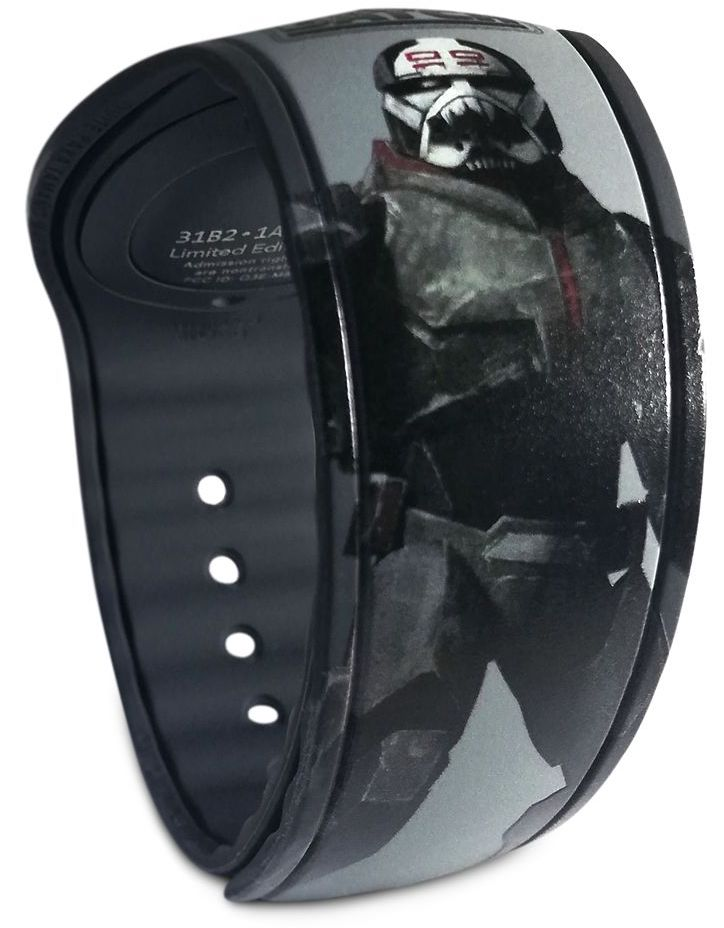 A new Star Wars: The Bad Batch Limited Edition 1500 MagicBand was released today