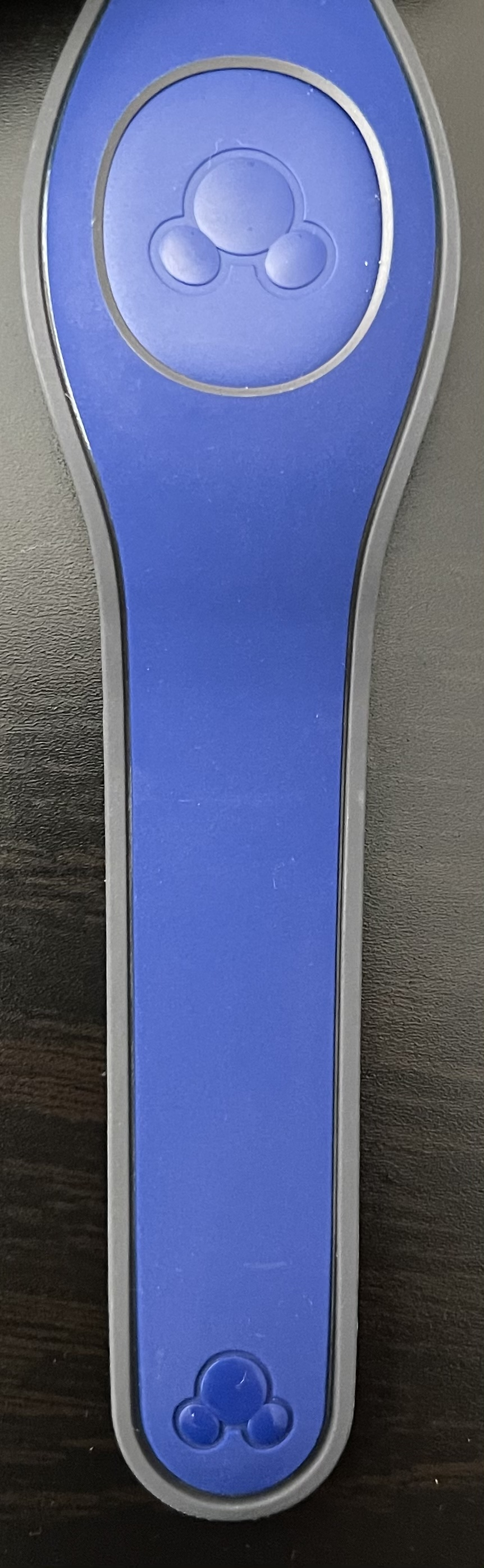 A new Royal Blue solid base color MagicBand has appeared