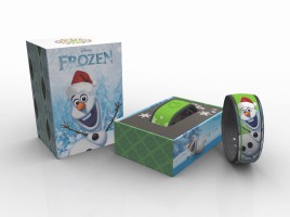 Frozen Olaf in Winter MagicBand