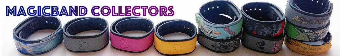 Disney MagicBand, MyMagic+, and FastPass+ collectables