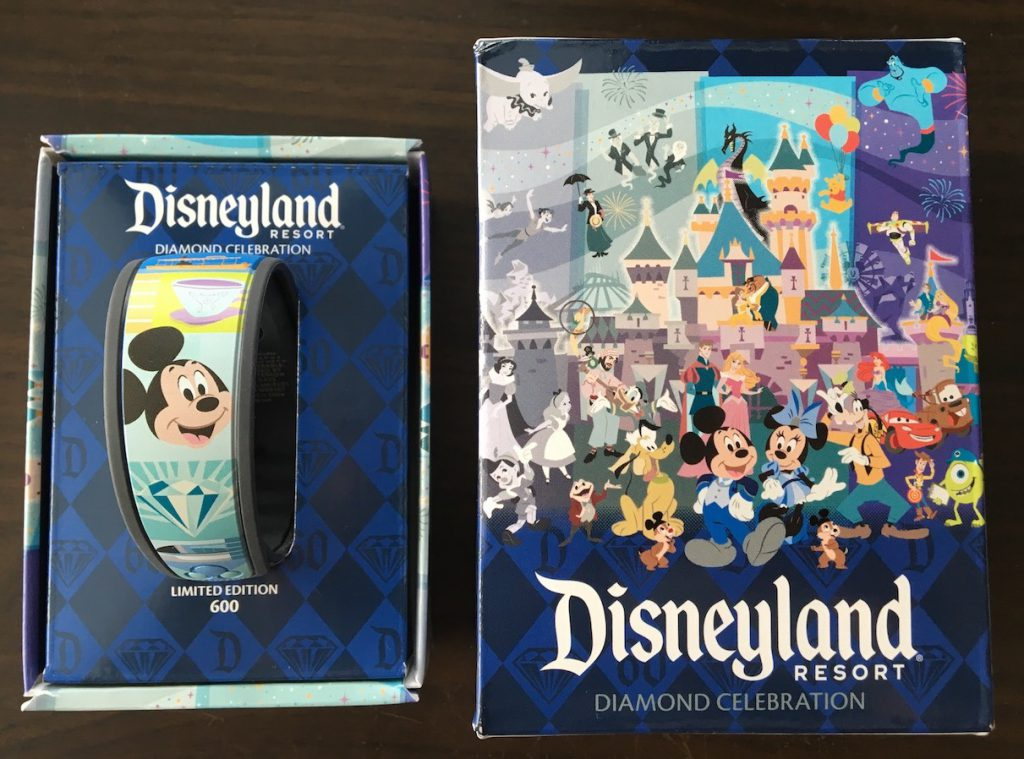 disneyland 60th magicband