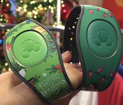Disney Christmas Magic Bands 2020 Three limited 2019 Christmas MagicBand designs revealed at media